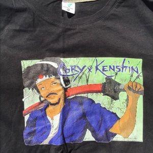 NWT Youth XL Black Cory Kenshin T-Shirt